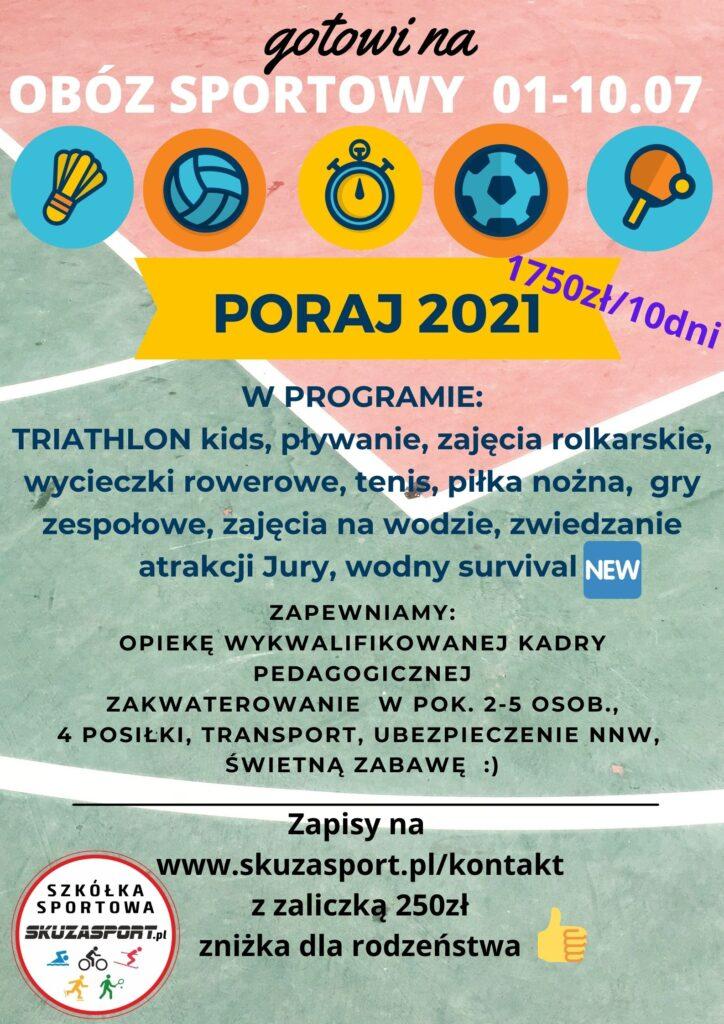 Obóz Sportowy 2021
